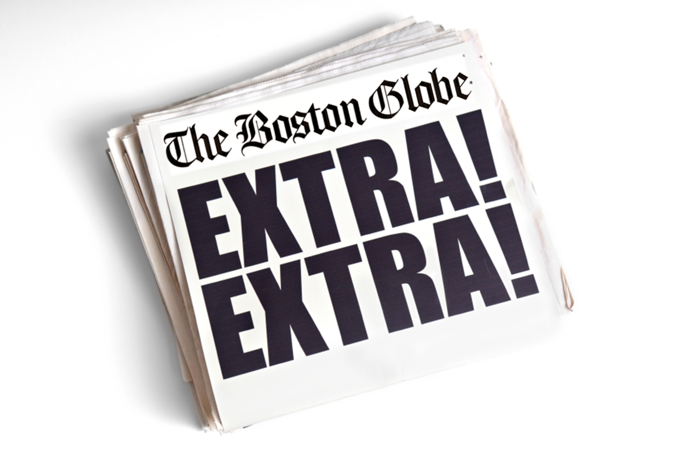 A sit-down with The Boston Globe's Deputy Managing Editor, Larry Edelman