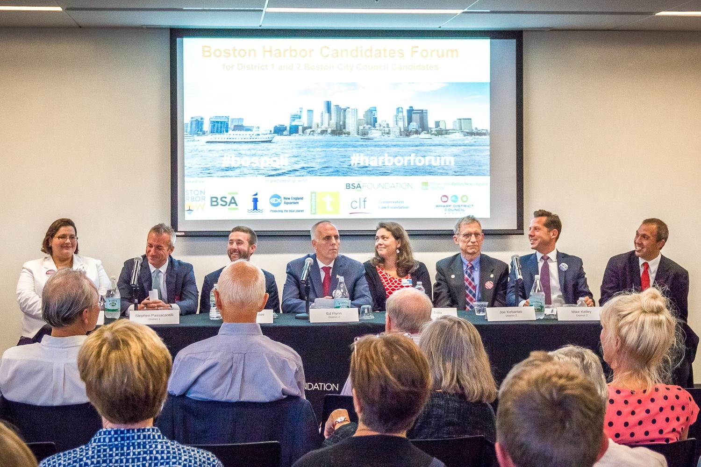 Boston Harbor City Council Candidate Forum