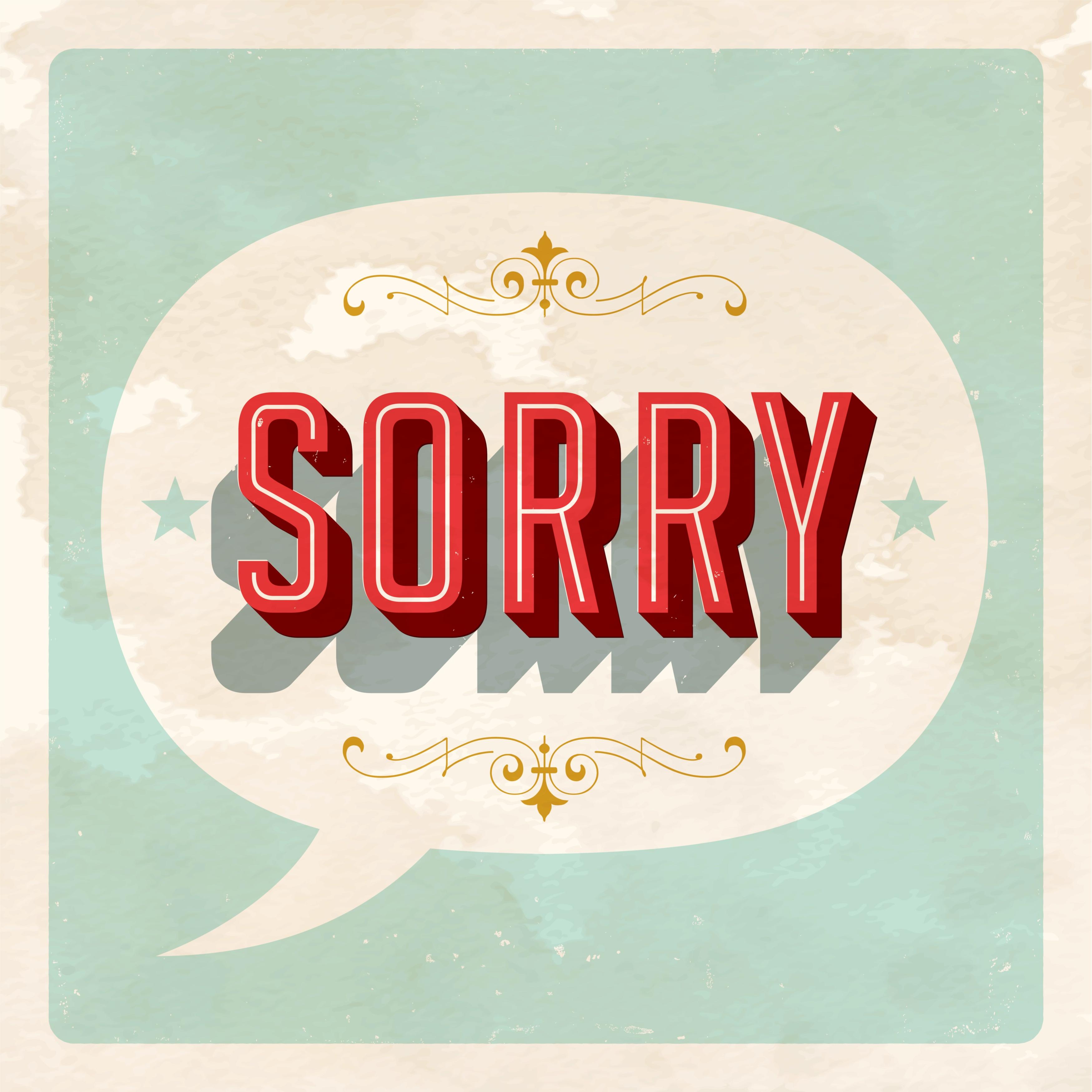 Social media apologies: 3 Rules