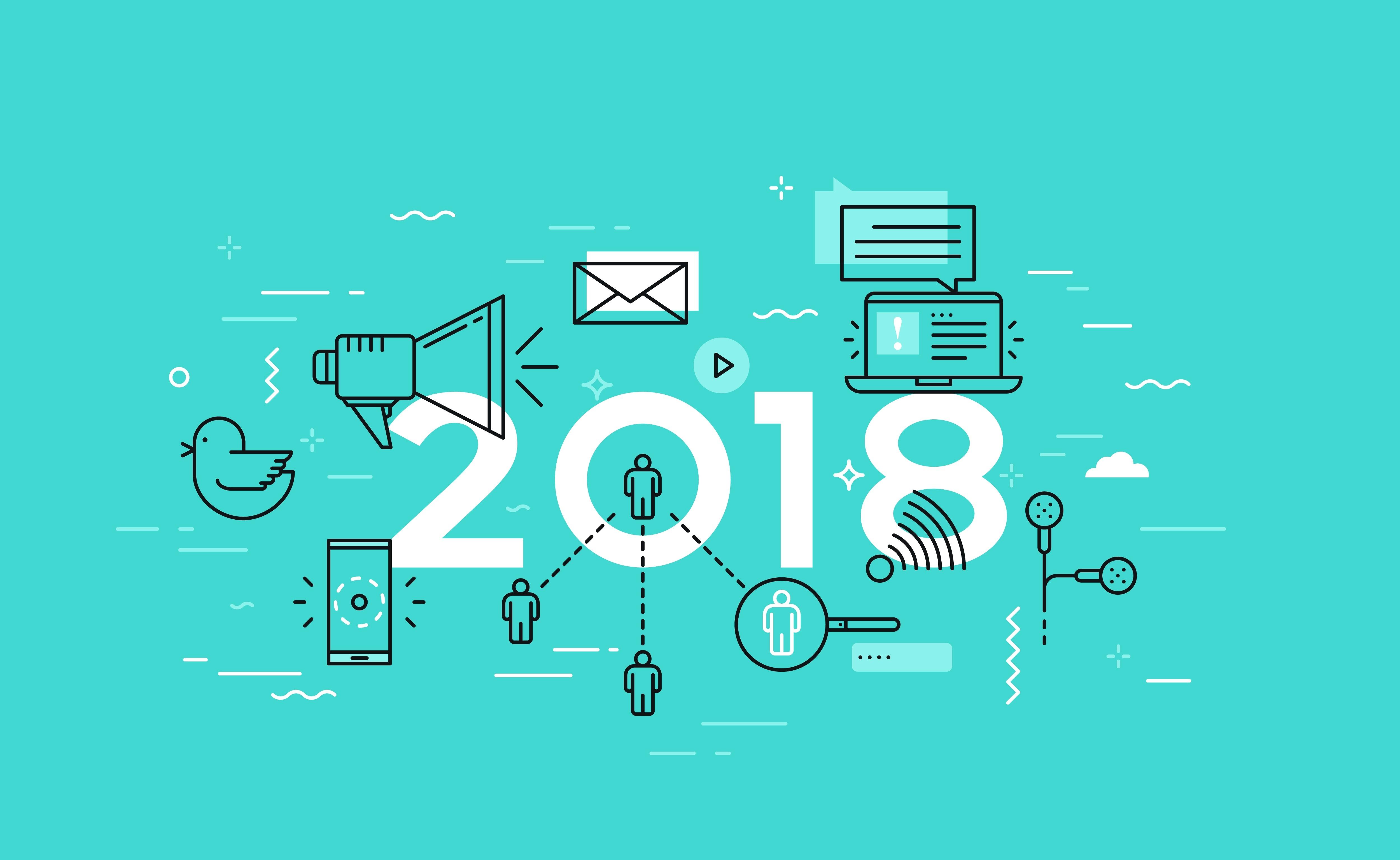 5 Social Media Trends for 2018